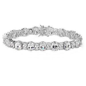 The Atyrah Swarovski Crystals  Tennis Bracelet